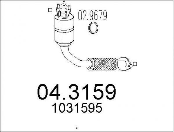 lepszy całkowicie stylowy nowy produkt Katalizator Ford PUMA 1.7 16V (125KM) - sklep online