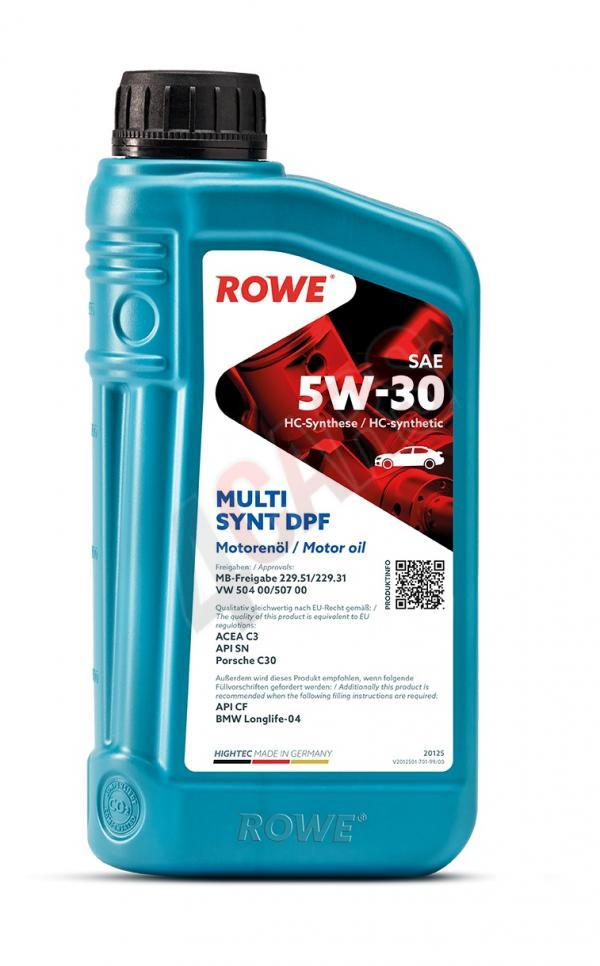 ROWE HIGHTEC MULTI SYNT DPF SAE 5W30